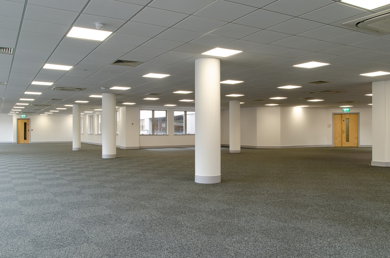 Interior of refurbished QRQ building, Brighton.